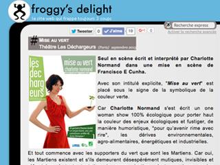 froggy's-delght-écran
