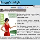 Un super article sur mon spectacle sur le site Froggy's Delight !