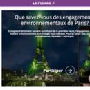 Mon spectacle dans le quiz COP21 du Figaro !