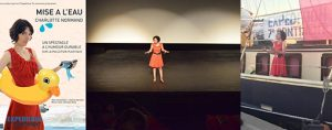 """Mon one woman show """"Mise à l'eau"""" à Toulon et Narbonne"""